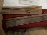 FREE 3 X Faux wood venetian blinds FREE