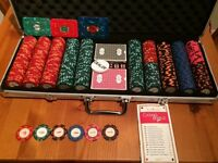 Very Rare casino royale Poker set