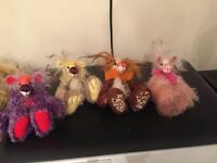 bears by WEE BERRY TALES .ALL 100% MOHAIR NEW PRICE