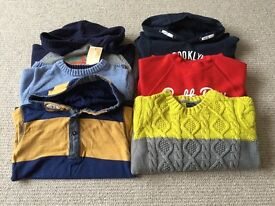 Bundle of boys jumpers age 3-4 mainly Next