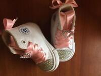 Custom baby convers boots