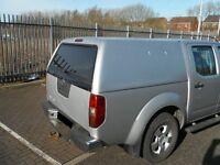 Nissan Navara D40 Snugtop Canopy Rear Back Cover Lid