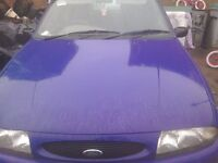 Wanted a buyer for my ford fiesta v reg starts drives taxed