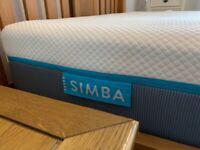Simba Mattress - Double, Almost New