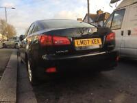 Lexus I S220 diesel 2007 with only 90,000 miles