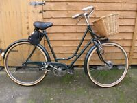 Ladies Vintage BSA Shopper Bike the R9 model 1950s. This is a Collector's Piece.