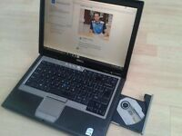 Dell Dual Core Widescreen laptop, 250gb, 2.5gb ram,Windows 10, Office, A Virus, DVD writer, £54