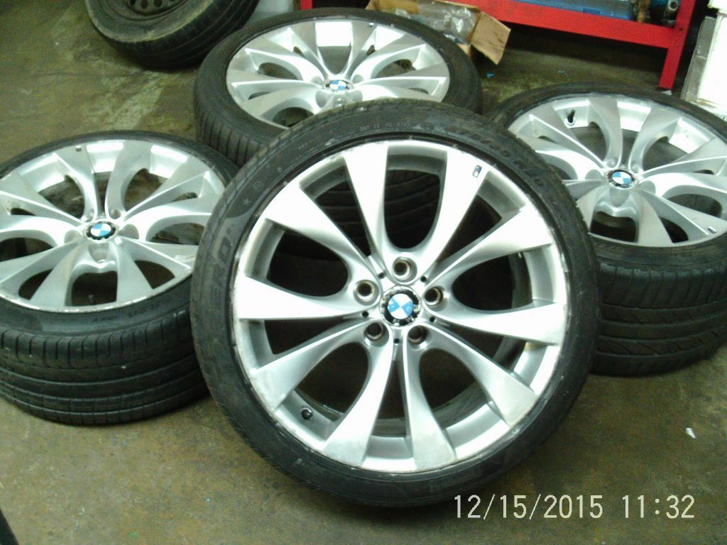 20 Quot Bmw X5 X6 Genuine E70 227 V Spoke M Sport Alloy