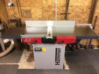Hammer / Felder planer thicknesser 400mm A3.41 1 phase . Woodwork machine