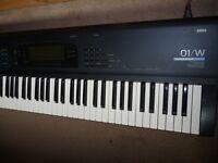 Korg 01/W workstation keyboard 01W