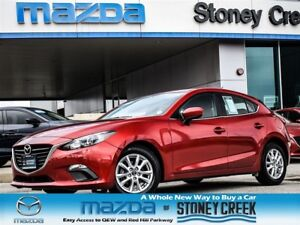 2015 Mazda MAZDA3 SPORT GS MANUAL,HEATED+B/UP,LOW KMS,NEW R/BRKS
