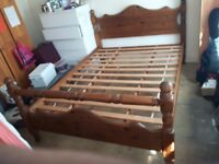 King size bed frame (collection only)