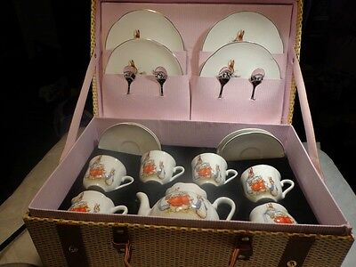 Reutter Germany - Beatrix Potter ~ Peter Rabbit ~ Child's Tea Set ~ Porcelain  on Rummage