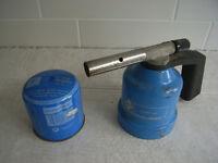 Gaz gas cylinder Blowtorch + new cylinder