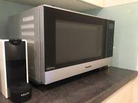 Brand New Panasonic NN-SF464MBPQ Microwave Oven, Silver