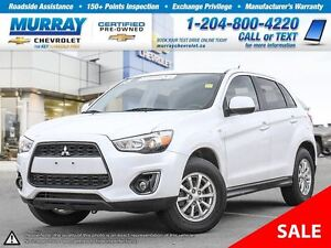 2013 Mitsubishi RVR AWD 4dr CVT SE *Leather Seats*