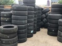 PartlyWorn Tyres, Variety of sizes available, from 13' to 21'