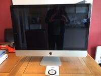 "APPLE IMAC QUAD CORE 3.1GHz INTEL ""CORE i5"" 27-INCH (MID-2011) NOT WORKING, SPARES, REPAIRS £350 ONO"