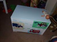Vehicle toy box