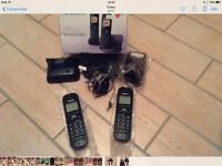 Panasonic twin cordless phones