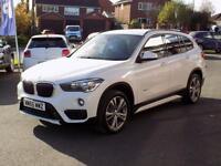 BMW X1 2.0 XDRIVE20D SPORT 5dr AUTO (188) * Nav & Leather (white) 2015