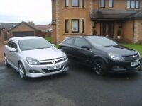 VAUXHALL ASTRA S,R,I 3 and 5 door cars moted 1 year