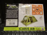 VANGO AIRBEAM ICARUS AIR 500 IN EXCELLENT CONDITION