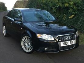 SPECIAL EDITION!! AUDI A4 S-LINE 2.0 TFSI 220BHP -1 OWNER FROM BRAND NEW -MOT-JULY2018 -FULL SERVICE