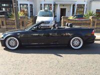 2005 BMW E46 320Cd M SPORT CONVERTIBLE 85K mileage £3999 EXTRAS!