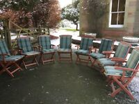 Solid wooden Patio chairs