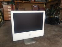 """Apple iMac 20"""". Not Working - for parts"""
