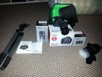 canon 700d camea with lens /flash / tripod / cary case BOXES