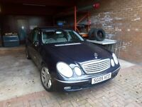 Mercedes E class 320 CDI Elegance Grey leather interior spotless clean service history