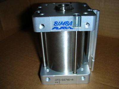 Bimba Flat-1 Square Cylinder Cfs-00740-a Fsm-3140-m 50mm Bore 40mm Stroke New