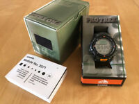 Casio Protrek prg-40-3vdr outdoor watch - compass, barometer and altimeter