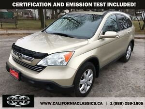 2007 Honda CR-V EX-L LEATHER SUNROOF - 4X4