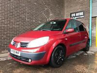 2005 NEW SHAPE RENAULT SCENIC 1.6 LOVELY CAR CAMBELT CHANGE NEW CLUTCH FULL SERVICE HISTORY