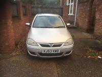 Vauxhall Corsa! 1.2L, 53 Plate! 12 Months M.O.T