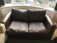 Couch and fold out bed