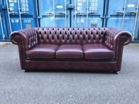 Chesterfield sofa Delivery Available