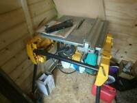 Dewalt table flip saw