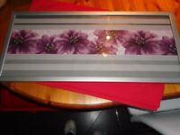 1 long silver coloured Frame