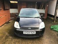 FORD FIESTA 1.4 BLACK 5 DOOR 2004 £750