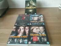 Homeland dvds 1 to 5 series.