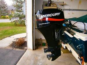 Used 2004 Mercury 30 hp 4 stroke efi