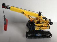 Lego Tracked Crane