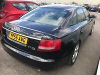 Audi A6 2.7 TDi S-Line 55-reg Black Saloon 5-dr, £2750