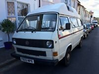 VW Camper T3 / T25 Autosleeper with high top roof
