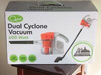 DUAL CYCLONE HAND HELD VACUUM CLEANER.