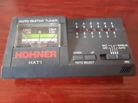 HAT-1 HOHNER Automatic Guitar Tuner Boxed
